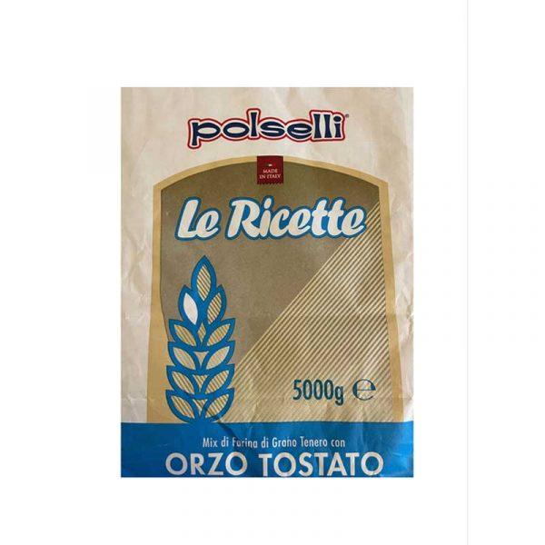 Polselli Orzo Tostato - Mešanica pšenične in ječmenove moke